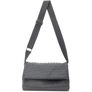 Bottega Veneta Grey Classic Hidrology Messenger Bag  - 1242 THUNDER SILVER - Size: UNI