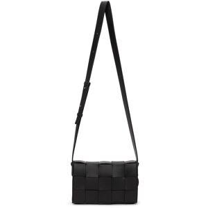 Bottega Veneta Black Cassette Bag  - 1229 BLACK SILVER - Size: UNI