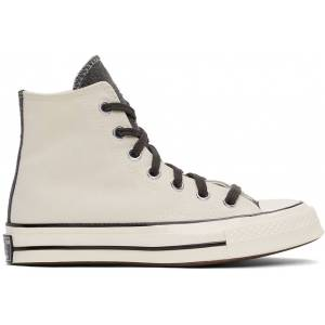 Converse SSENSE Exclusive Off-White & Grey Chuck 70 Hi Sneakers  - Turbulence - Size: 38