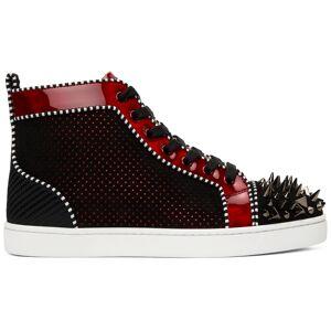 Christian Louboutin Black Lou Pik Pik Orlato High Sneakers  - CM4H MULTICOLOR - Size: 41