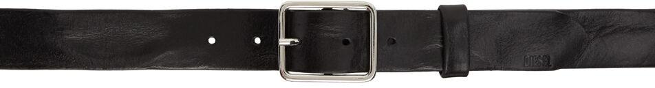 Diesel Black B-Straight Belt  - T8013 BLACK - Size: 85