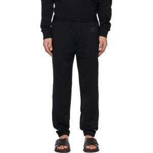 Ermenegildo Zegna Couture Black Logo Lounge Pants  - K09 BLACK - Size: 30