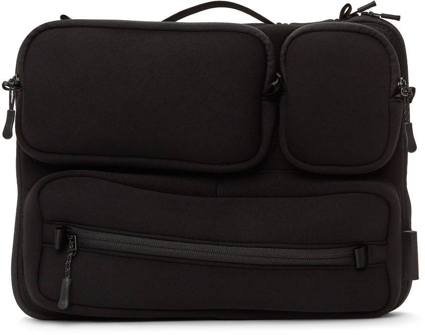 Snow Peak Black Multi Storage Laptop Case  - BLACK - Size: UNI