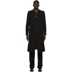Ann Demeulemeester SSENSE Exclusive Black God of Wild Simplistic Coat  - 099 Black - Size: Medium