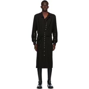 Ann Demeulemeester SSENSE Exclusive Black God of Wild Pippa Shirt Dress  - 099 Black - Size: Medium