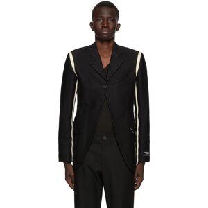 Ann Demeulemeester SSENSE Exclusive Black God of Wild Simplistic Blazer  - 099 Black - Size: Small