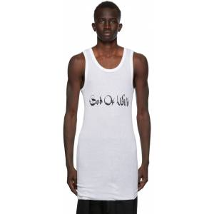 Ann Demeulemeester SSENSE Exclusive White God of Wild Chic Tank Top  - 001 White - Size: Medium