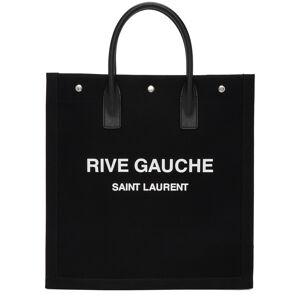 Saint Laurent Black & White 'Rive Gauche' Shopping Tote  - 1070 BLKWHI - Size: UNI