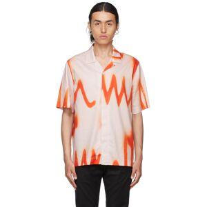 Paul Smith Orange & Pink Spray Short Sleeve Shirt  - 21 POWDE - Size: Small