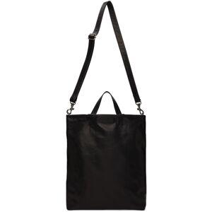 Ann Demeulemeester Black Leather Tote  - BLACK - Size: UNI