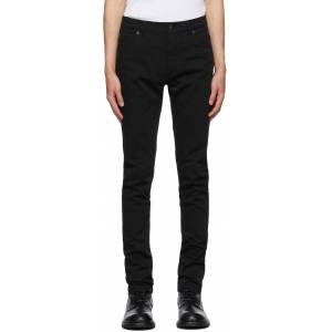 Ann Demeulemeester Black Slim-Fit Jeans  - BLACK - Size: 34