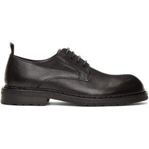 Ann Demeulemeester Black Leather Derbys  - BLACK - Size: 46