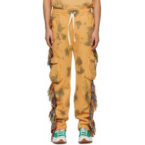 Alchemist Orange Guess Edition Dawn Riders Lounge Pants  - SILVER FERN TIE-DYE - Size: 32