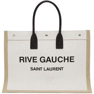 Saint Laurent Off-White 'Rive Gauche' Tote  - 9280 WHBKNA - Size: UNI