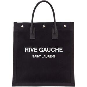 Saint Laurent Black 'Rive Gauche' Shopping Tote  - 1070 BLKWHT - Size: UNI