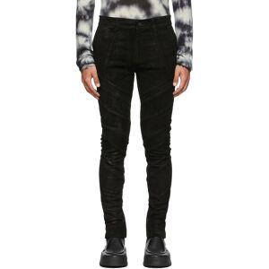 FREI-MUT Black Leather Gloaming Pants  - ELECTROLITE - Size: 34