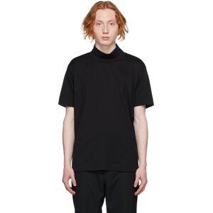 Givenchy Black Funnel Neck 4G T-Shirt  - 001-BLACK - Size: Extra Large