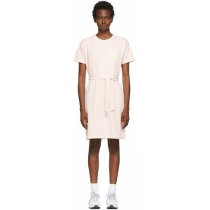 A.P.C. Pink Lucy Dress  - EAD Peach - Size: Extra Large