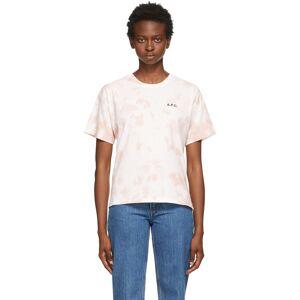 A.P.C. Pink Cassie T-Shirt  - FAA Pink - Size: Medium