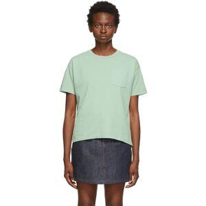 A.P.C. Green Hope T-Shirt  - KAB Pale Gr - Size: Medium