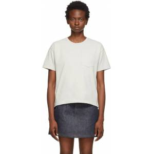 A.P.C. Grey Hope T-Shirt  - LAA Grey - Size: Large