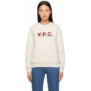 A.P.C. Beige VPC Sweater  - PBB Beige - Size: Extra Small