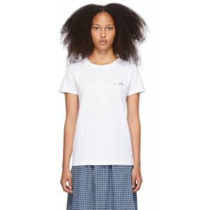 A.P.C. White Item T-Shirt  - AAB WHITE - Size: Small