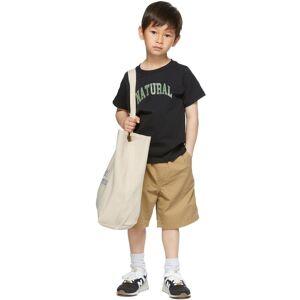 Museum of Peace & Quiet SSENSE Exclusive Kids Black 'Natural' Little Kids T-Shirt  - BLACK - Size: 4T