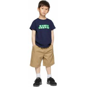 Museum of Peace & Quiet SSENSE Exclusive Kids Navy Blocks Little Kids T-Shirt  - NAVY - Size: 3T