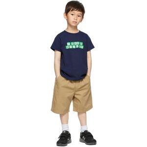 Museum of Peace & Quiet SSENSE Exclusive Kids Navy Blocks Little Kids T-Shirt  - NAVY - Size: 2T