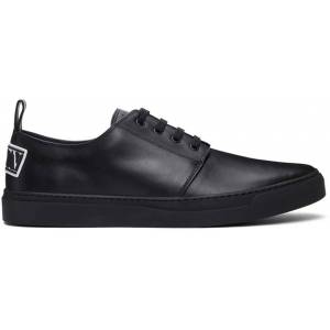 Valentino Garavani Black Valentino Garavani 'VLTN' Sneakers  - 0NO NERO/BI - Size: 38.5