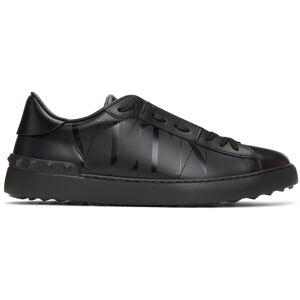 Valentino Garavani Black Valentino Garavani 'VLTN' Open Sneakers  - 0NO NERO/NE - Size: 39.5