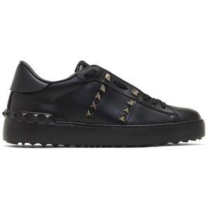 Valentino Garavani Black Valentino Garavani Rockstud Untitled Sneakers  - 0NO Nero - Size: 38.5