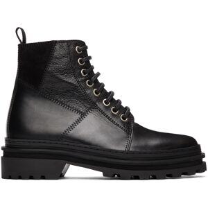 A.P.C. Black Marcelle Boots  - LZZ Black - Size: 37
