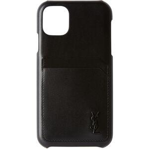 Saint Laurent Black iPhone 11 Case  - 1000 NERO - Size: UNI
