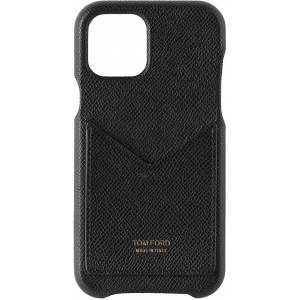 TOM FORD Black Card Slot iPhone 11 Pro Case  - U9000 BLACK - Size: UNI