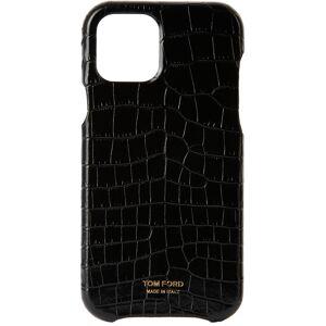 TOM FORD Black Croc iPhone 12 Pro Case  - U9000 BLACK - Size: UNI