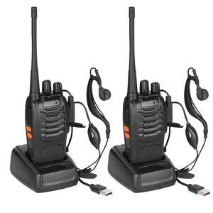 2-Pack: Baofeng BF-888S Walkie Talkies Two Way Radio