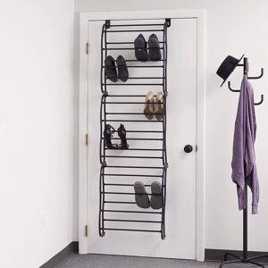 DailySale 36-Pair: Sunbeam Over the Door Shoe Rack