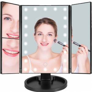 DailySale Make Up Mirror with 22 LED Lights