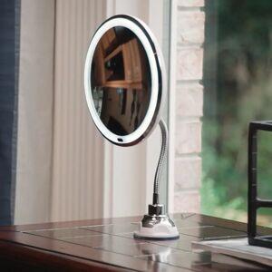 DailySale My Flexible Mirror 10x Magnification 7 Make Up Round Vanity Mirror