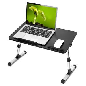 Foldable Laptop Stand with Adjustable Height Angle