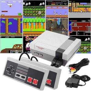 Classic Games Console with 500+ Games Built in and 2 Controllers