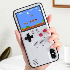 Retro Gaming Phone Case with 36 Games Built-In