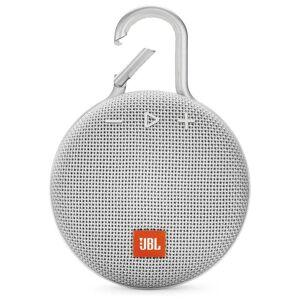JBL Clip 3 Portable Waterproof Wireless Bluetooth Speaker - White