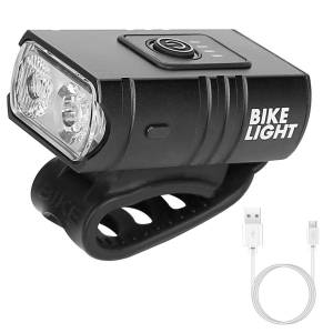 1000LM Bike Front Light Rechargeable Handlebar Head Light with 6 Lighting Modes