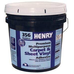 Henry 356 MultiPro Premium Multipurpose High Strength Paste Carpet & Sheet Vinyl Adhesive 4 gal
