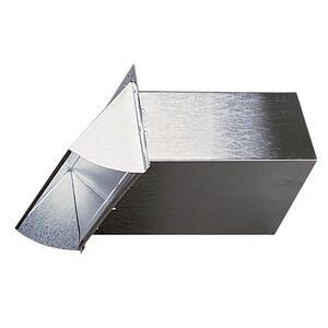 Deflect-O Aluminum Wall Cap