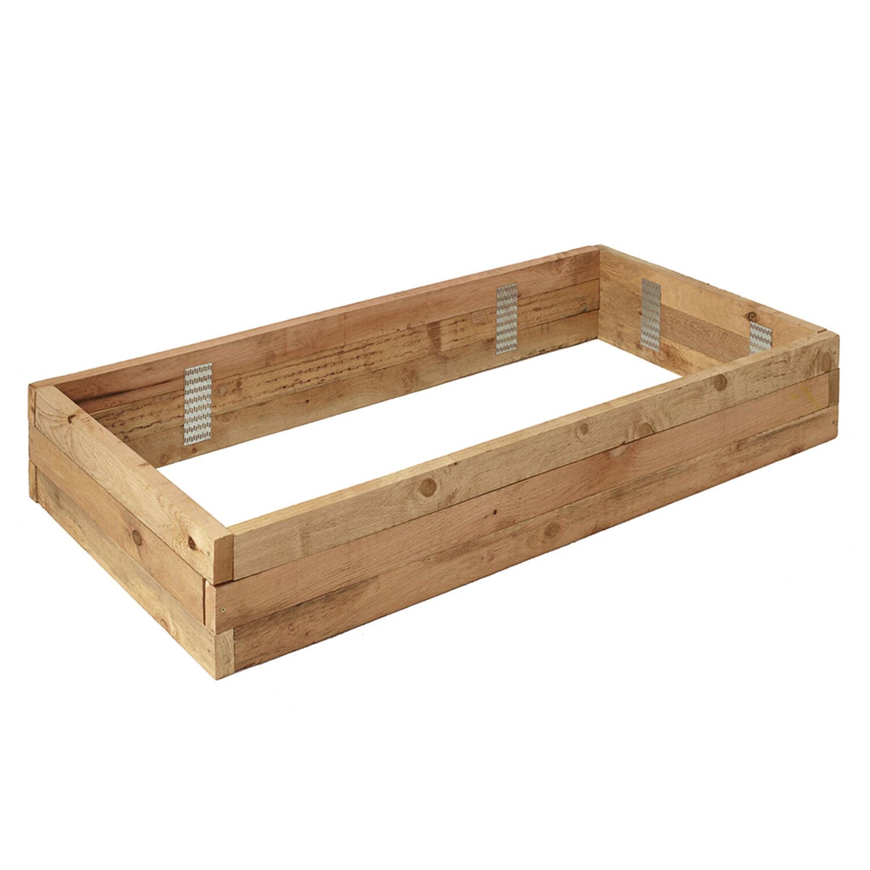 Outdoor Essentials 11 in. H X 72 in. W X 36 in. D Wood Garden Bed Natural
