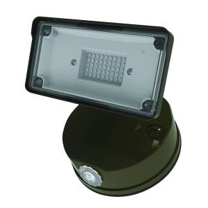 Halo TGS Series Switch Hardwired LED Bronze Floodlight
